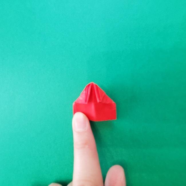 折り紙のキティーちゃんの折り方作り方 (25)
