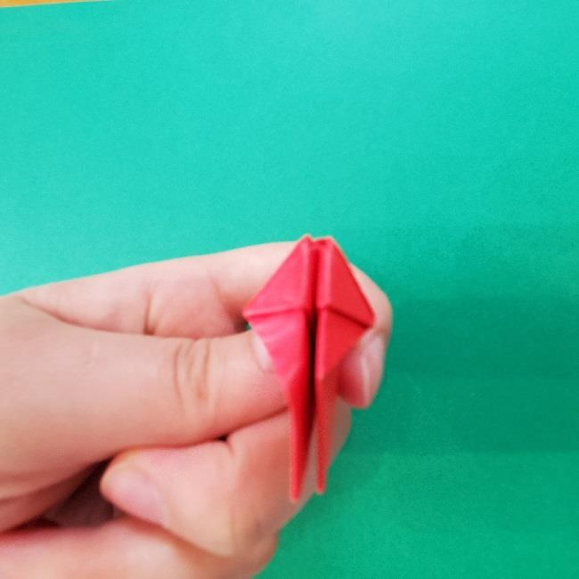 折り紙のキティーちゃんの折り方作り方 (26)