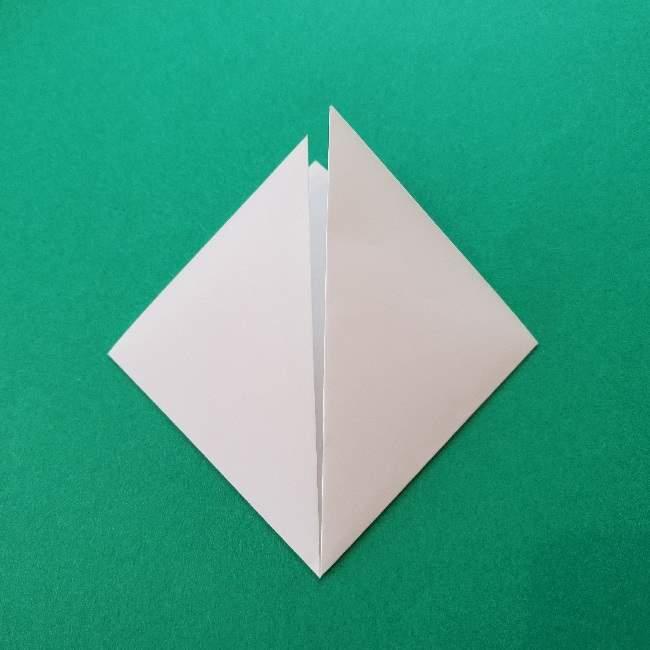 折り紙のキティーちゃんの折り方作り方 (36)