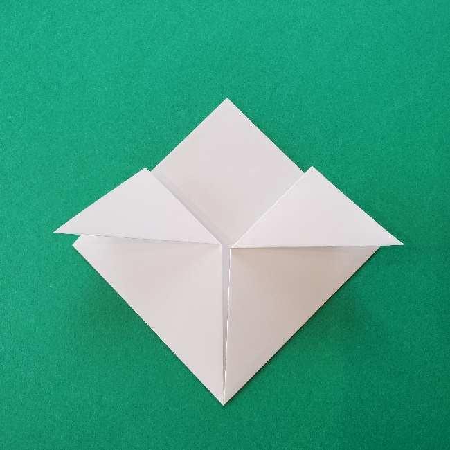 折り紙のキティーちゃんの折り方作り方 (37)