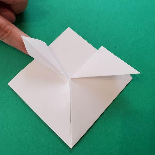 折り紙のキティーちゃんの折り方作り方 (38)