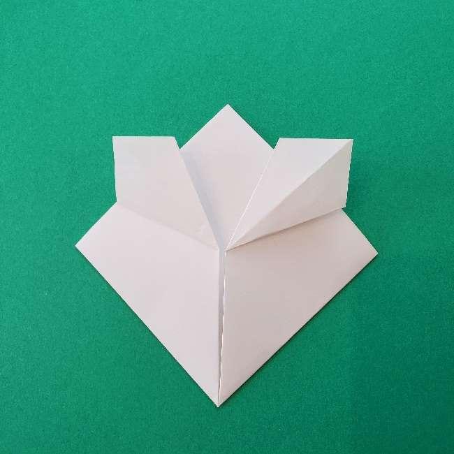 折り紙のキティーちゃんの折り方作り方 (39)