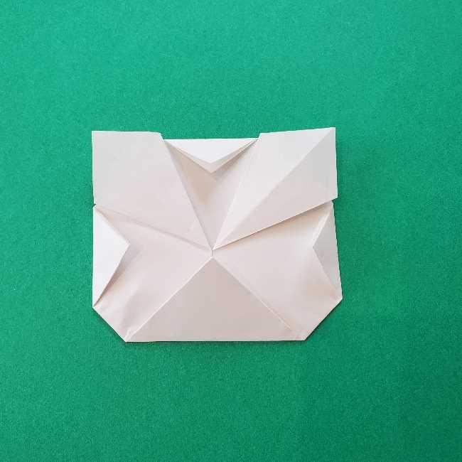 折り紙のキティーちゃんの折り方作り方 (42)