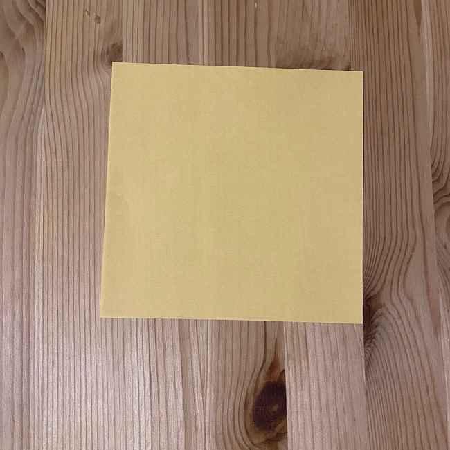 折り紙のコリラックマ*用意するもの
