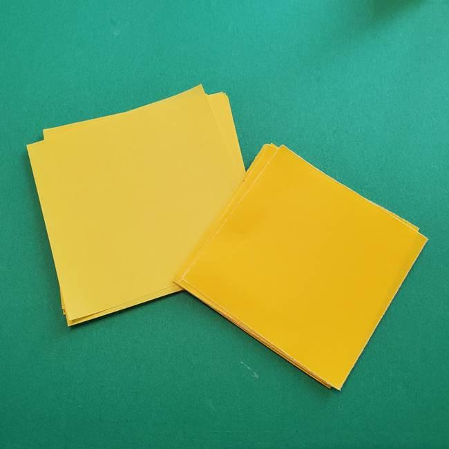 折り紙のダリアは16枚のパーツから作れる♪(1)