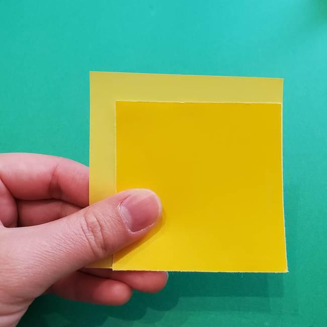 折り紙のダリアは16枚のパーツから作れる♪(2)