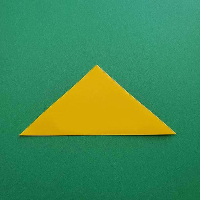 折り紙のダリア 16枚で立体的な折り方①上段(2)
