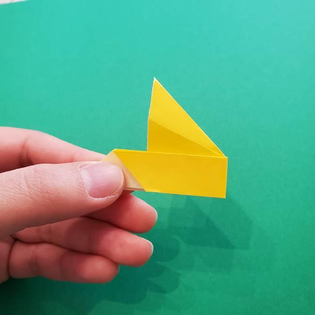 折り紙のダリア 16枚で立体的な折り方①上段(21)