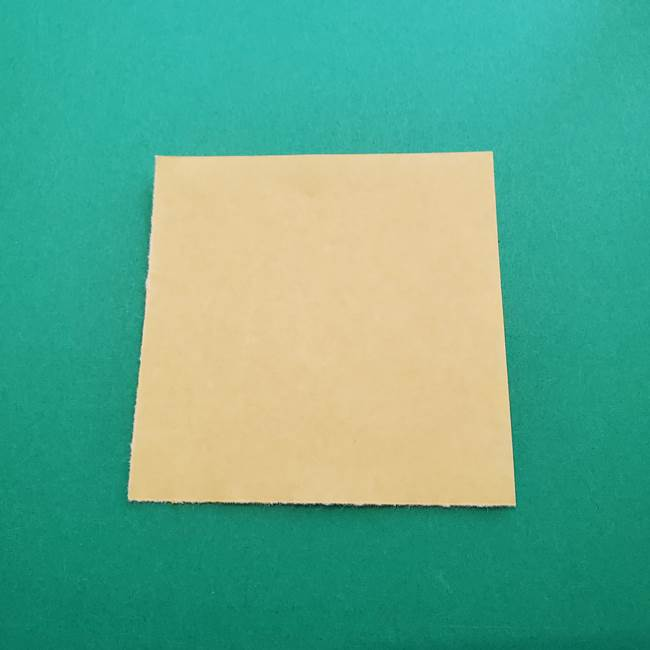 折り紙のダリア 16枚で立体的な折り方②下段(1)