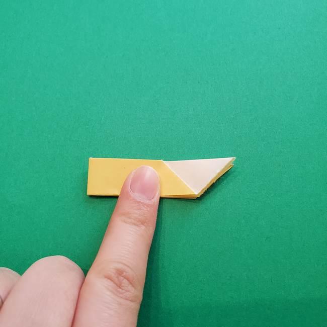折り紙のダリア 16枚で立体的な折り方②下段(10)