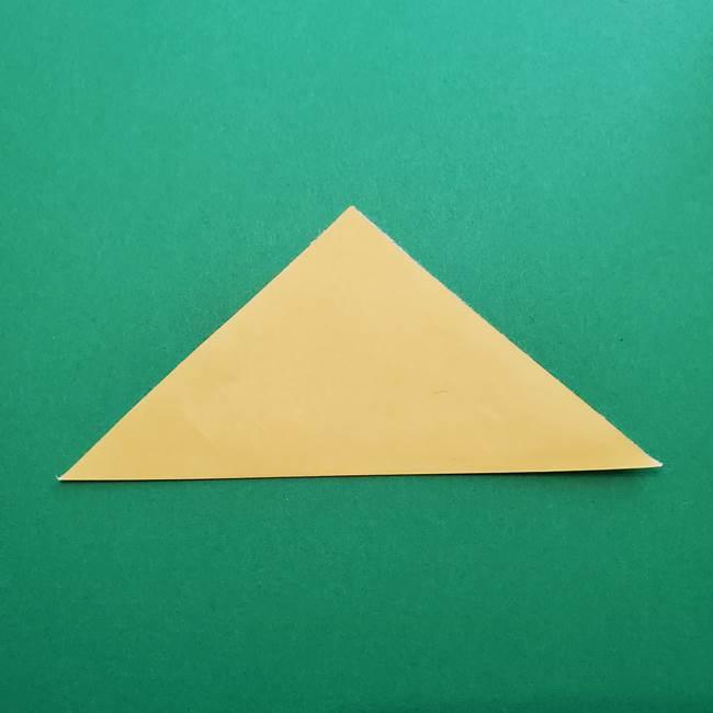 折り紙のダリア 16枚で立体的な折り方②下段(2)