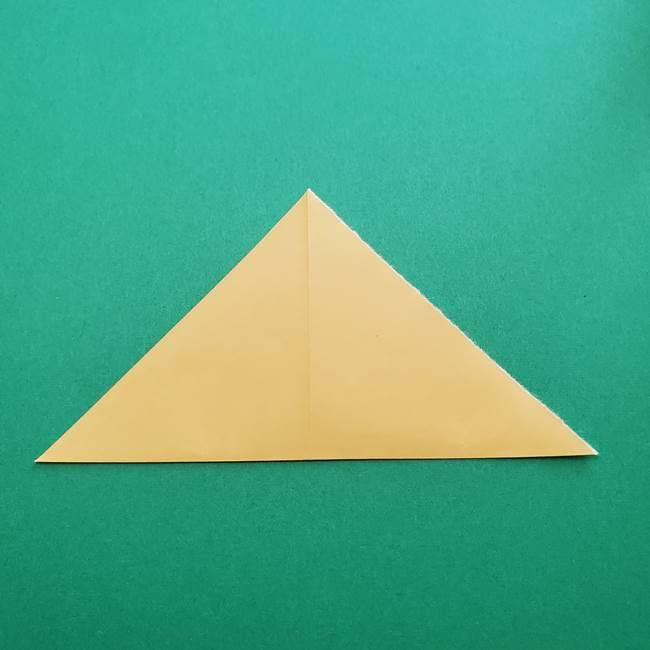 折り紙のダリア 16枚で立体的な折り方②下段(4)