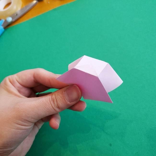 折り紙のチャーミーキティ*折り方作り方リボン (10)