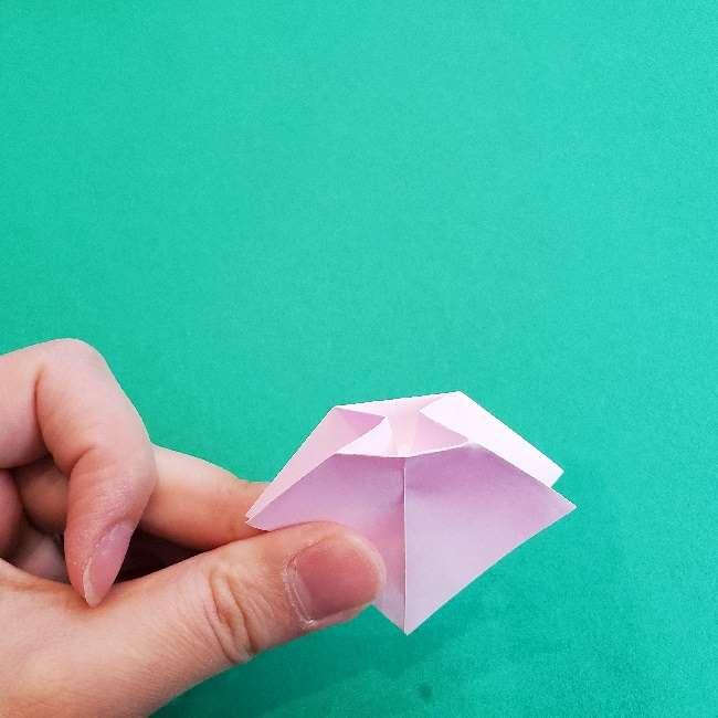 折り紙のチャーミーキティ*折り方作り方リボン (11)