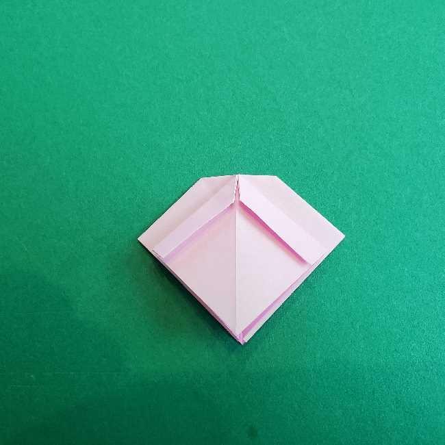 折り紙のチャーミーキティ*折り方作り方リボン (13)