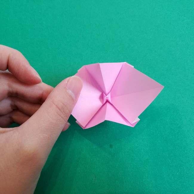 折り紙のチャーミーキティ*折り方作り方リボン (15)
