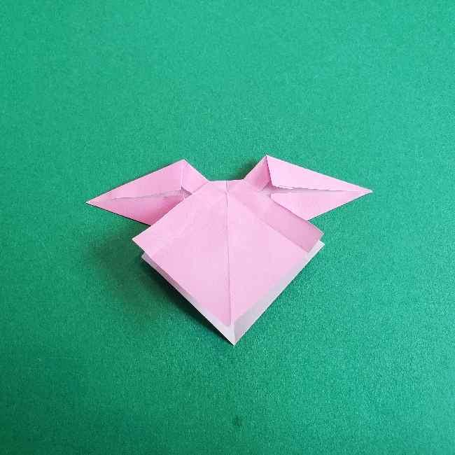 折り紙のチャーミーキティ*折り方作り方リボン (20)