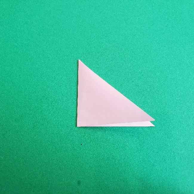 折り紙のチャーミーキティ*折り方作り方リボン (3)