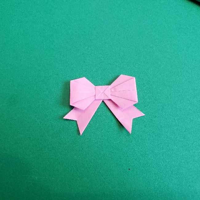 折り紙のチャーミーキティ*折り方作り方リボン (30)