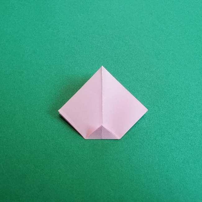 折り紙のチャーミーキティ*折り方作り方リボン (7)