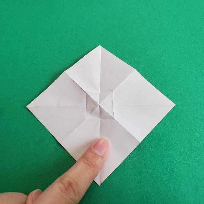 折り紙のチャーミーキティ*折り方作り方リボン (8)