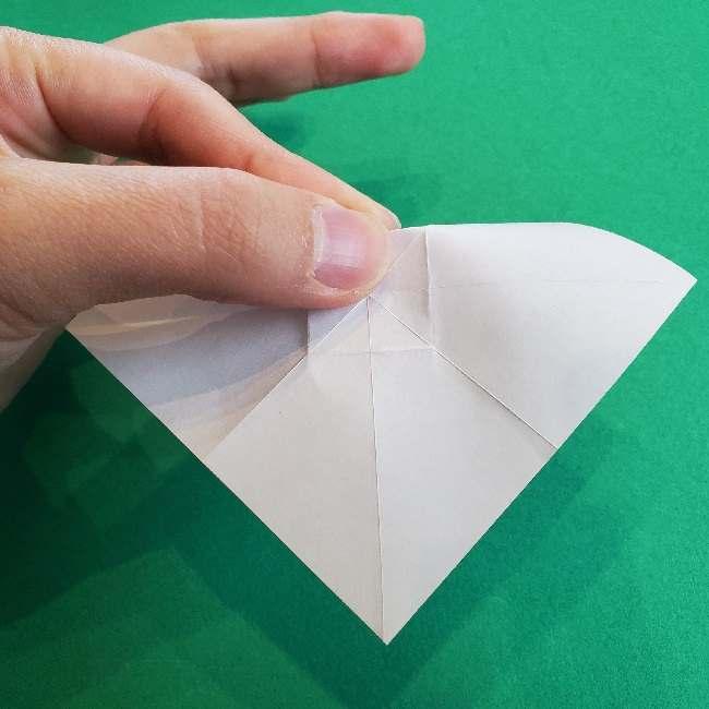 折り紙のチャーミーキティ*折り方作り方リボン (9)