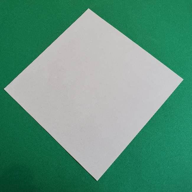折り紙のチャーミーキティ*折り方作り方顔 (1)