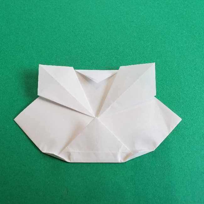 折り紙のチャーミーキティ*折り方作り方顔 (10)