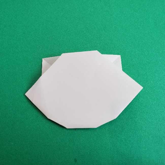 折り紙のチャーミーキティ*折り方作り方顔 (11)