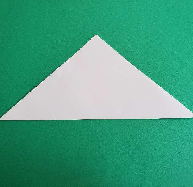 折り紙のチャーミーキティ*折り方作り方顔 (2)