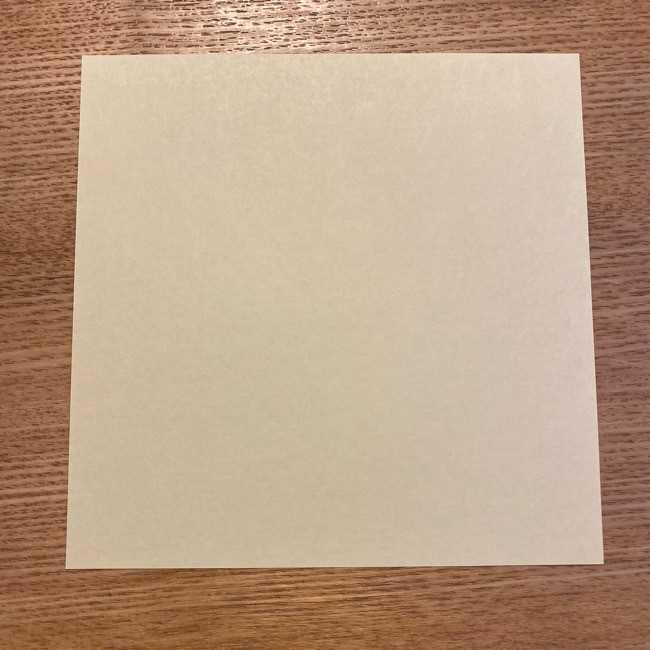 折り紙のポムポムプリン 立体的な箱*折り方作り方 (1)