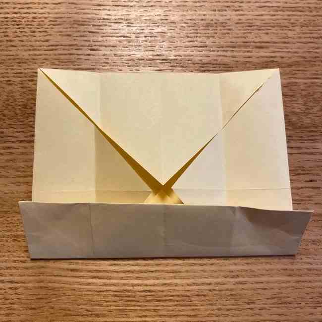 折り紙のポムポムプリン 立体的な箱*折り方作り方 (10)