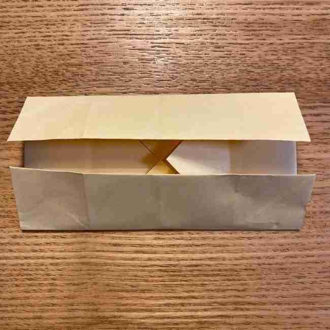 折り紙のポムポムプリン 立体的な箱*折り方作り方 (11)