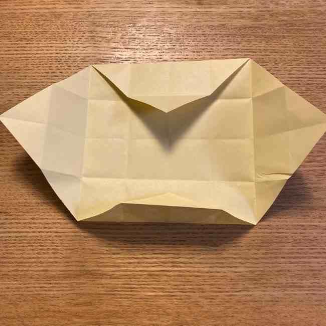 折り紙のポムポムプリン 立体的な箱*折り方作り方 (14)