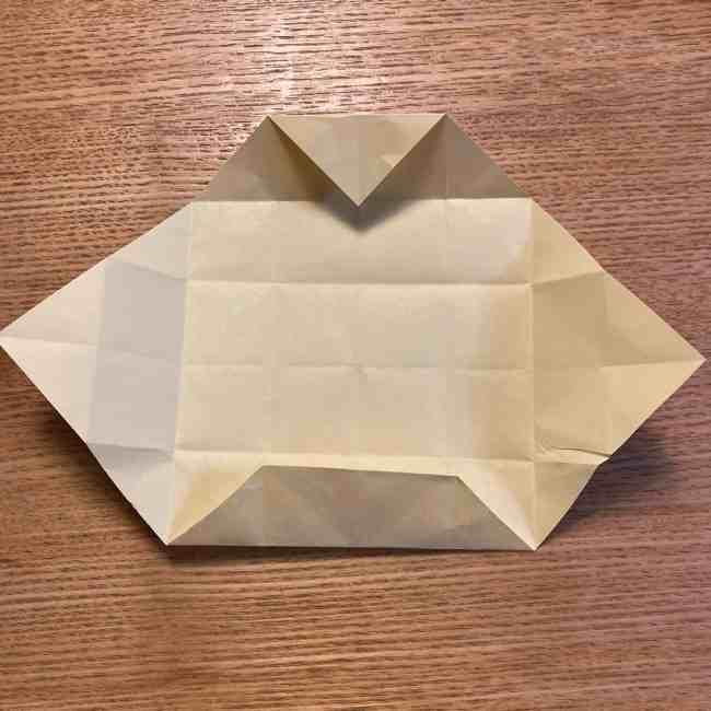 折り紙のポムポムプリン 立体的な箱*折り方作り方 (15)