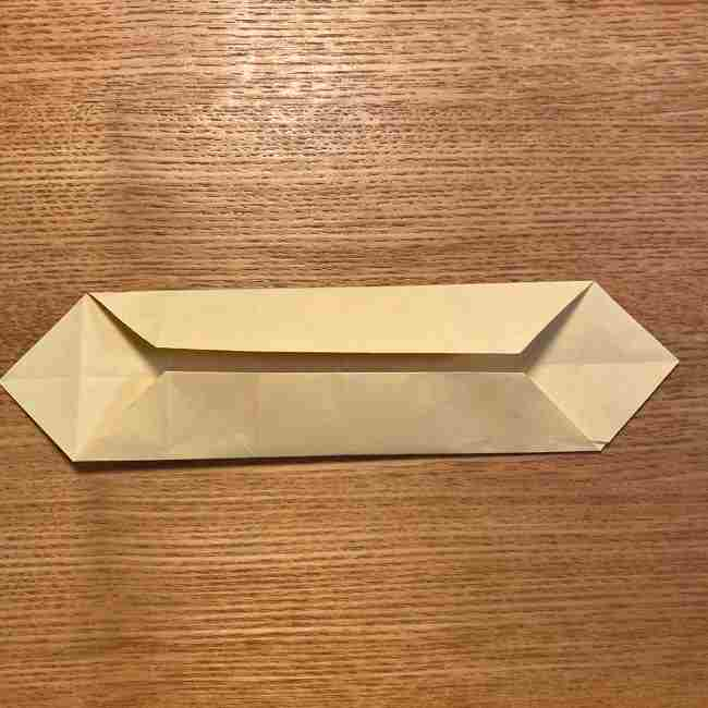 折り紙のポムポムプリン 立体的な箱*折り方作り方 (18)