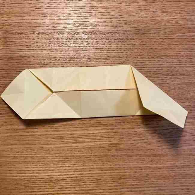折り紙のポムポムプリン 立体的な箱*折り方作り方 (23)
