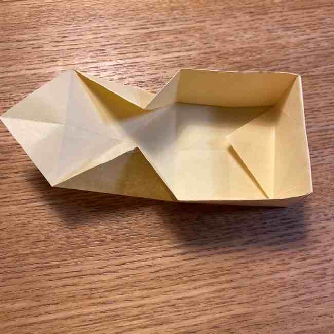折り紙のポムポムプリン 立体的な箱*折り方作り方 (27)