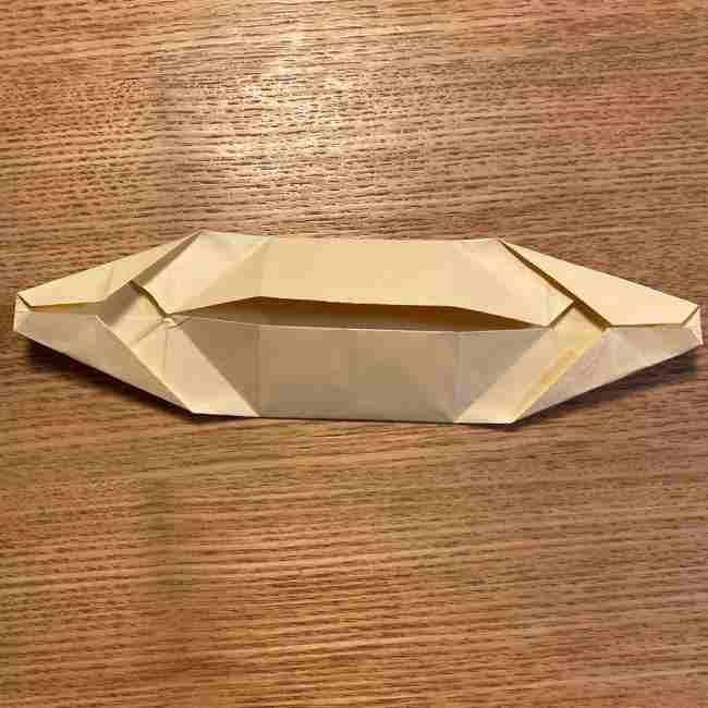 折り紙のポムポムプリン 立体的な箱*折り方作り方 (34)