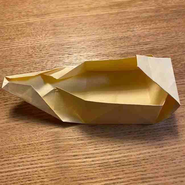 折り紙のポムポムプリン 立体的な箱*折り方作り方 (35)