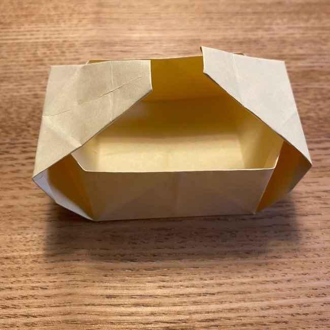 折り紙のポムポムプリン 立体的な箱*折り方作り方 (36)