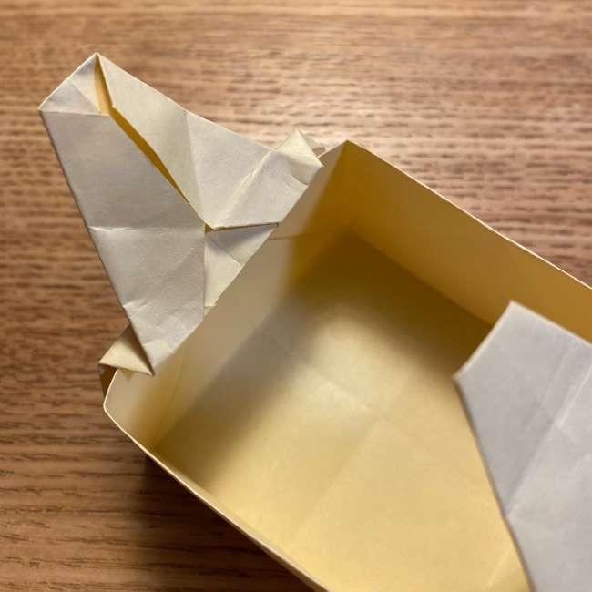 折り紙のポムポムプリン 立体的な箱*折り方作り方 (37)