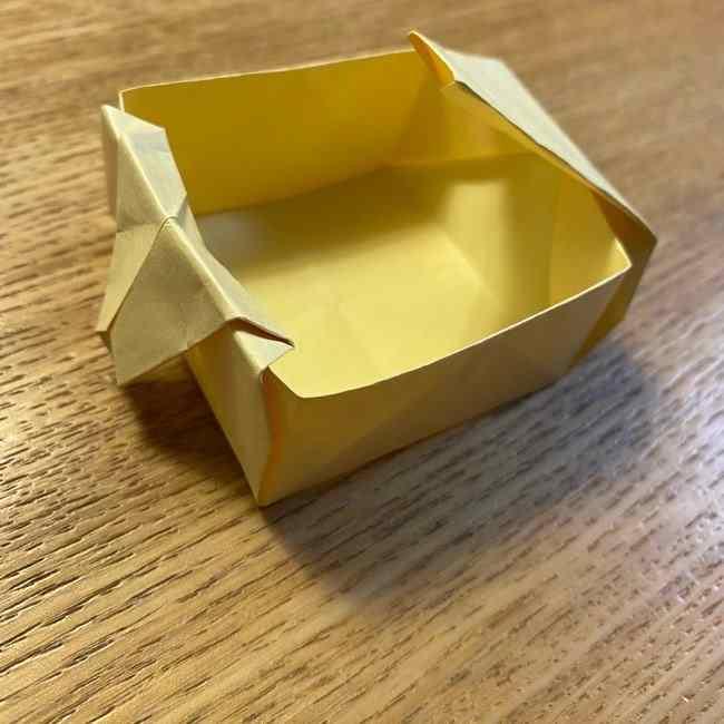 折り紙のポムポムプリン 立体的な箱*折り方作り方 (38)