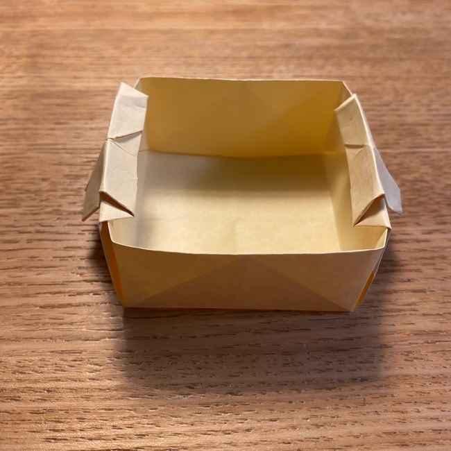 折り紙のポムポムプリン 立体的な箱*折り方作り方 (39)