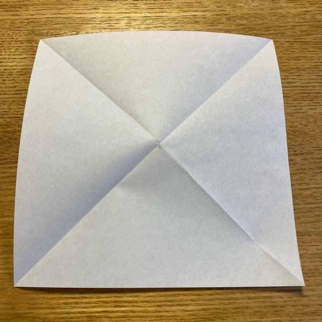折り紙のポムポムプリン 立体的な箱*折り方作り方 (43)