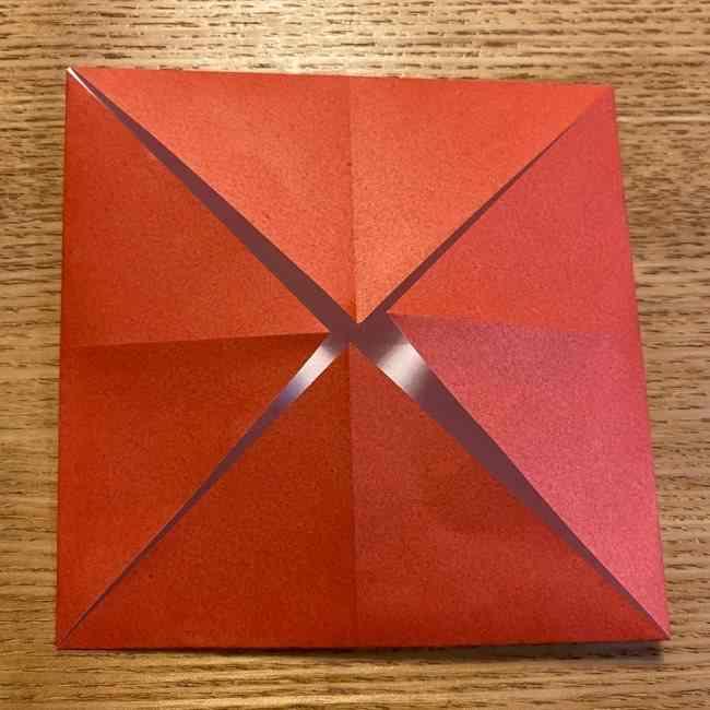 折り紙のポムポムプリン 立体的な箱*折り方作り方 (44)