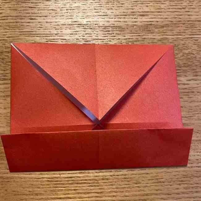 折り紙のポムポムプリン 立体的な箱*折り方作り方 (45)