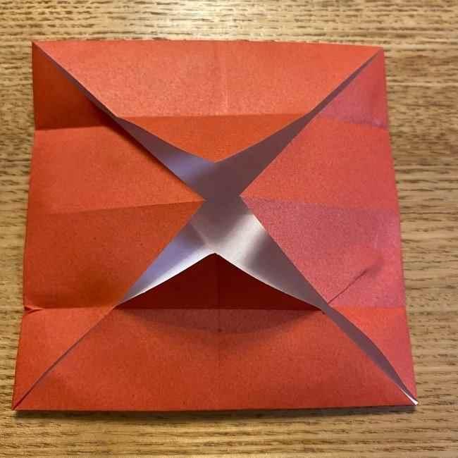 折り紙のポムポムプリン 立体的な箱*折り方作り方 (47)