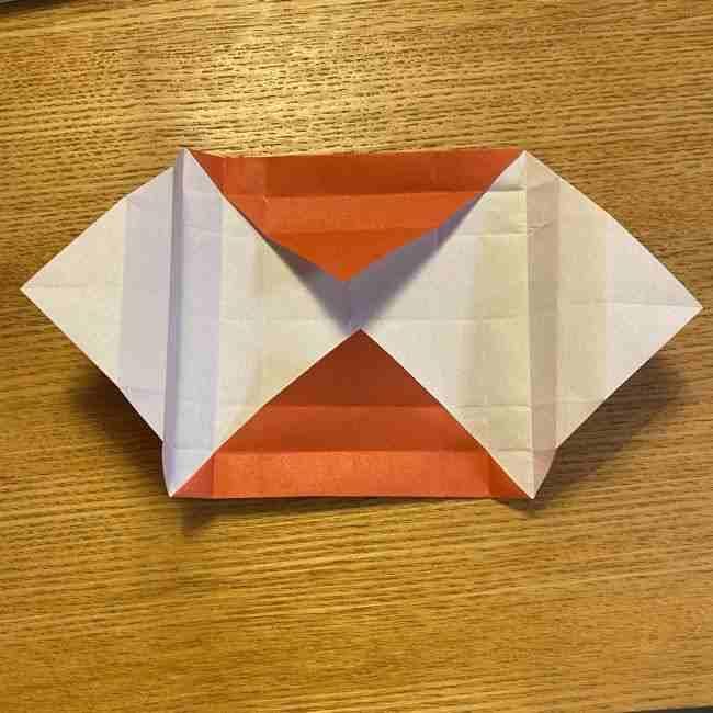 折り紙のポムポムプリン 立体的な箱*折り方作り方 (53)