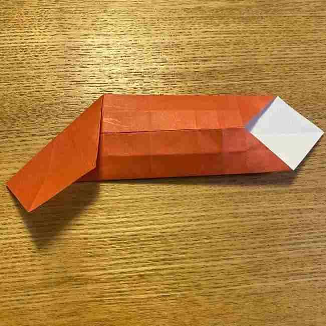 折り紙のポムポムプリン 立体的な箱*折り方作り方 (56)